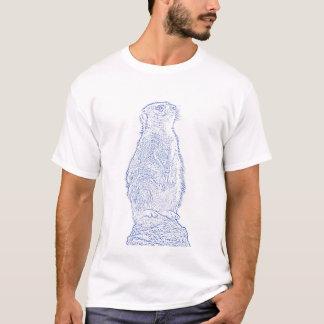 Meerkat (blau) T-Shirt