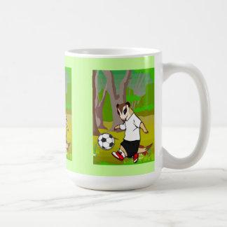 Meerkat Fußballpraxis Kaffeetasse