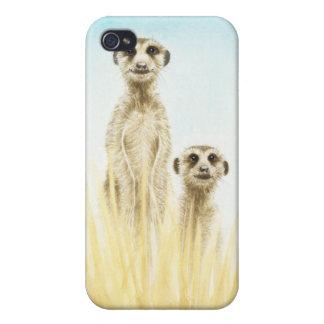 Meerkat iPhone 4 Cover