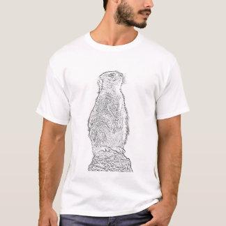 Meerkat (Schwarzes) T-Shirt