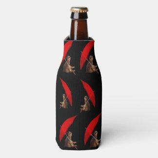 Meerkat Sun intelligentes Muster, Flaschenkühler