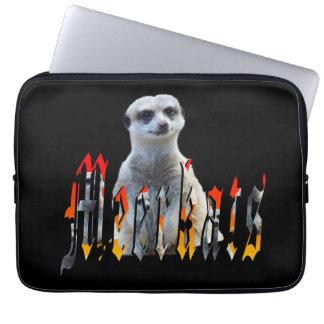 Meerkat und Meerkat Logo, Laptop Sleeve