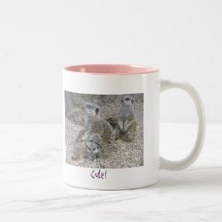 Meerkats Regel-Tasse Zweifarbige Tasse