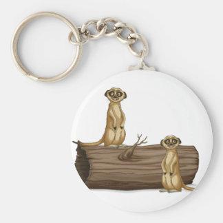 Meerkats Schlüsselanhänger