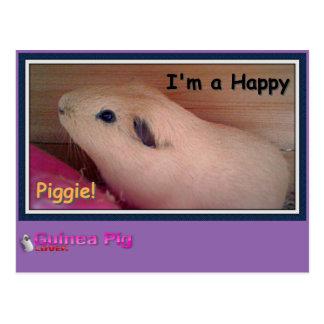 Meerschweinchen-Liebhaber Postkarte