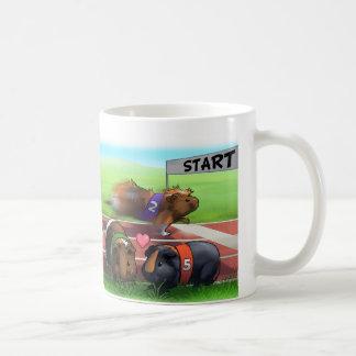 Meerschweinchen-Rennen Kaffeetasse