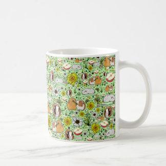 Meerschweinchen-Tasse im Grün Kaffeetasse