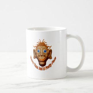 Mehr als gerade ein hübsches Gesicht Kaffeetasse