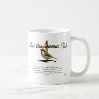 Mehr als Spatzen Kaffeetasse