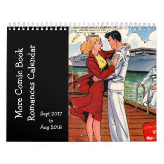 Mehr Comic-BuchRomances - Sept. 2017 O Sapt 2018 Wandkalender