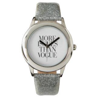 Mehr Fragen als Mode-Uhr Uhr