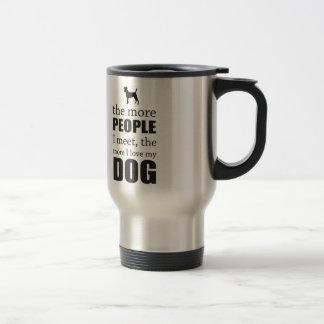 Mehr i-Liebe mein Hund Edelstahl Thermotasse