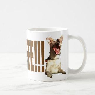Mehr Kaffee Brown Kaffeetasse