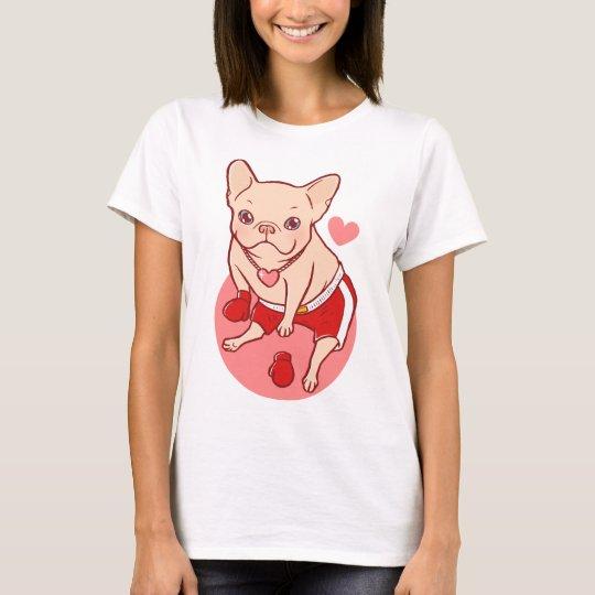Mehr Liebe weniger Kampf T-Shirt