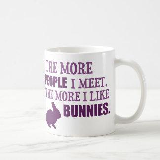Mehr mag ich Häschen Kaffeetasse