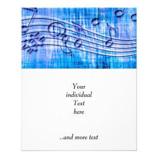 mehr Musikblau 11,4 X 14,2 Cm Flyer