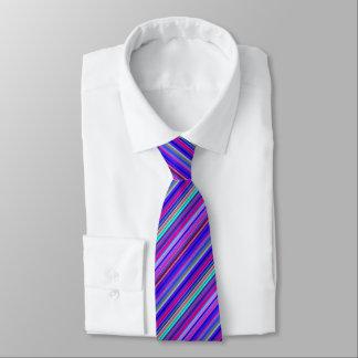 Mehrfache Farbgestreifte Krawatte