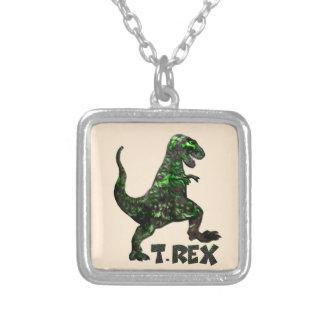 Mehrfache Produkte Dinosauriers T Rex ausgewählt Versilberte Kette