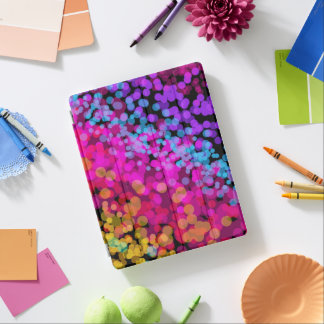 Mehrfarben iPad Hülle