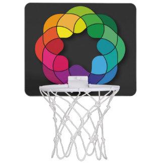 Mehrfarben Mini Basketball Ring