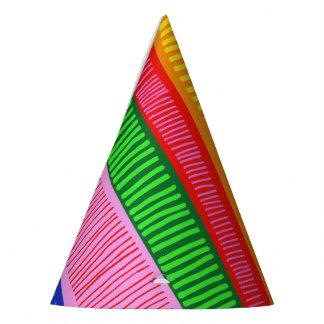Mehrfarben Partyhütchen
