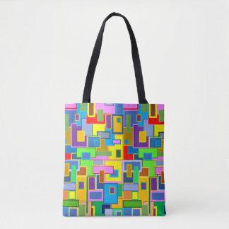 Mehrfarben Tasche