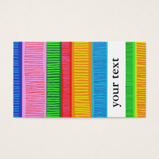Mehrfarben Visitenkarte