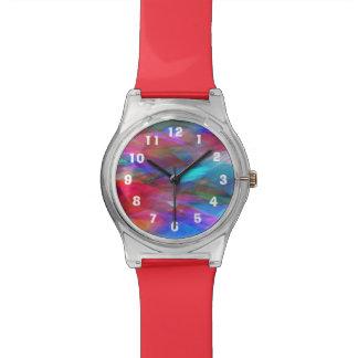 MehrfarbenFlugzeuge redigieren Zahlen Uhr