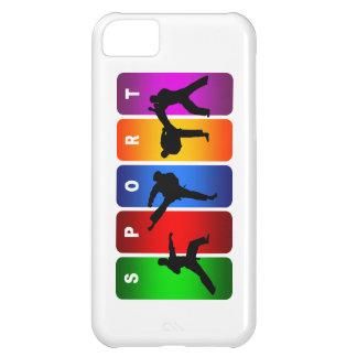 Mehrfarbenkarate iPhone 5 Kasten iPhone 5C Hülle
