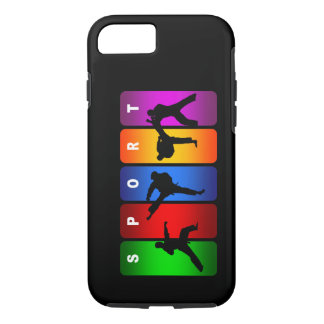 Mehrfarbenkarate iPhone 7 Kasten iPhone 8/7 Hülle