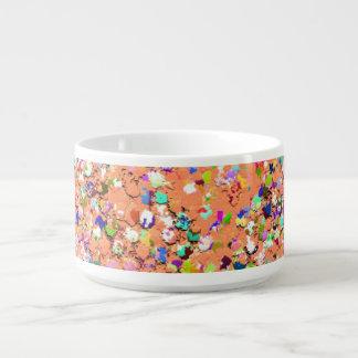 Mehrfarbenmosaik-moderner Korn-Glitzer #5 Kleine Suppentasse