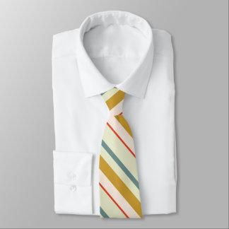 Mehrfarbenstreifenmuster Personalisierte Krawatten