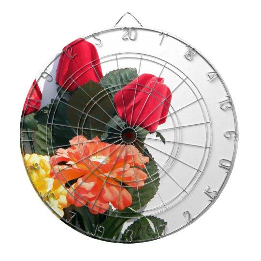 Mehrfarbige Blumen Dart-scheibe