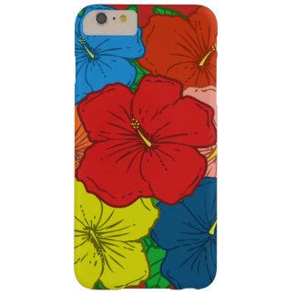 Mehrfarbige Hibiskus-Blumen #7 Barely There iPhone 6 Plus Hülle