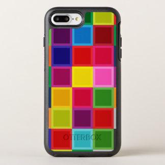 Mehrfarbige OtterBox Verteidiger iPhone 7 Plusfall OtterBox Symmetry iPhone 8 Plus/7 Plus Hülle