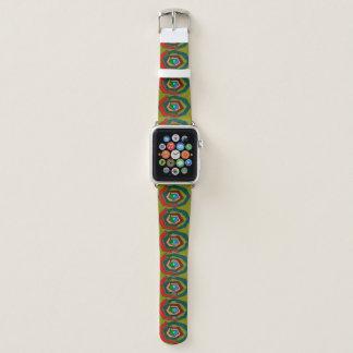 Mehrfarbige/runde Form-Apple-Uhrenarmband Apple Watch Armband