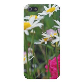 Mehrfarbige Wildblumen in einem Garten Schutzhülle Fürs iPhone 5