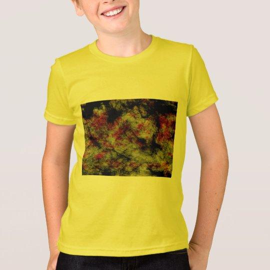mehrfarbiger mystischer Hintergrund T-Shirt