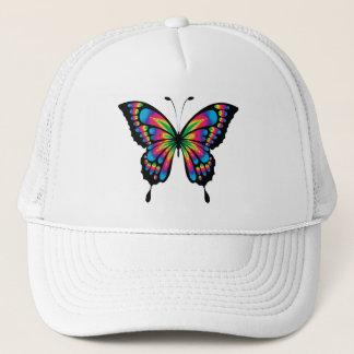 Mehrfarbiger Schmetterling Retromütze