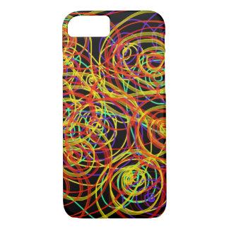 Mehrfarbiger Wirbels-Indie abstrakter iPhone 8/7 Hülle