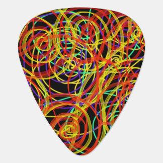 Mehrfarbiger Wirbels-Indie abstrakter Plektron