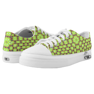 Mehrfarbiges modisches Muster Niedrig-geschnittene Sneaker