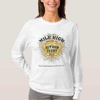 Meilen-die lange Hülse T der hohen T-Shirt