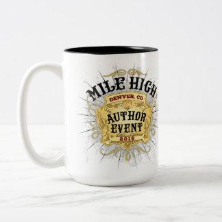 Meilen-hohe Autorn-Ereignis-Tasse Zweifarbige Tasse