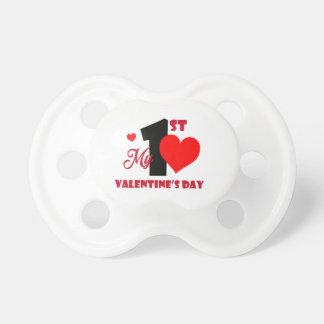 Mein 1. Schnuller-Baby-Geschenk des Valentines Schnuller