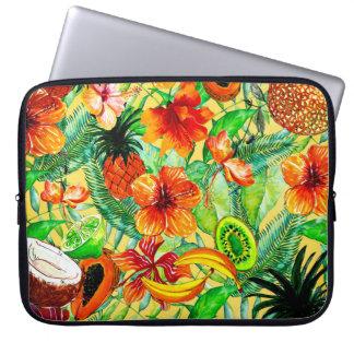 Mein Aloha tropische Frucht-und Laptop Sleeve