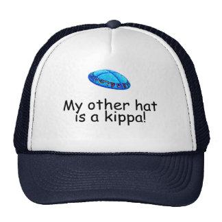Mein anderer Hut ist ein kippa Retromütze