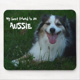 Mein bester Freund ist ein Australier! Mousepad