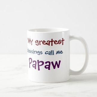 Mein bestster Segen ruft mich Papaya-Frucht Tasse