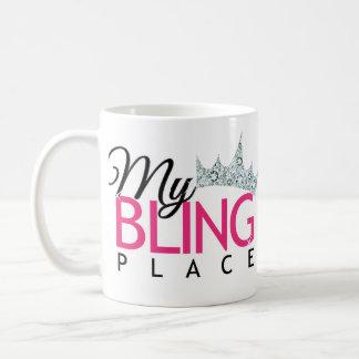 Mein Bling Platz Kaffeetasse
